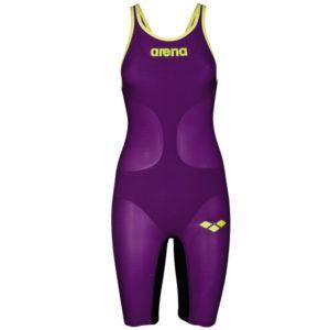 Ženski Arena Powerskin Carbon-Air (ljubičasta/fluo žuta)