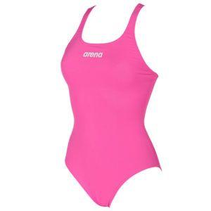 Ženski kupaći kostim Arena Solid Swim Pro (roza)
