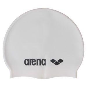 Kapa za plivanje Arena Classic Silicone (bijela)