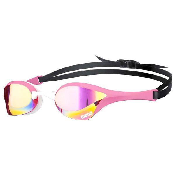 Naočale za plivanje Arena Cobra Ultra Mirror (revo žuta / roza)
