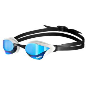 Naočale za plivanje Arena Cobra Core Mirror (bijela/plava)