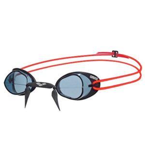 Naočale za plivanje Arena Swedix (tamno siva / crvena)
