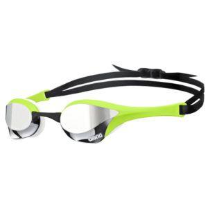 Naočale za plivanje Arena Cobra Ultra Mirror (srebrna / zelena / crna)