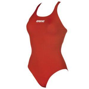 Ženski kupaći kostim Arena Solid Swim Pro (crvena)