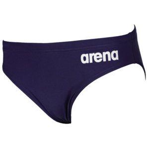 Dječje kupaće gaće Arena Solid Brief Jr tamno plave