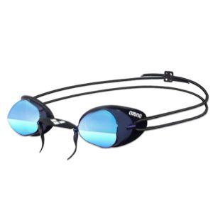 Naočale za plivanje Arena Swedix Mirror (tamno siva/plava/crna)