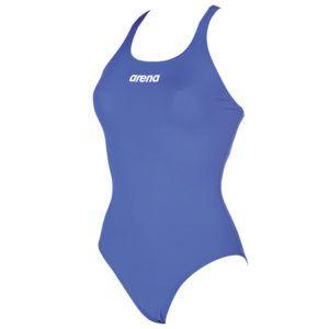 Ženski kupaći kostim Arena Solid Swim Pro (royal plava)