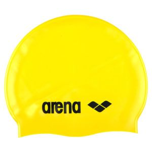 Kapa za plivanje Arena Classic Silicone (žuta)