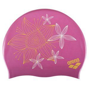 Kapa za plivanje za dugu kosu Arena Sirene (roza)