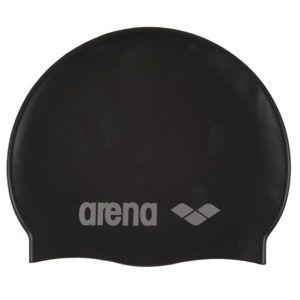 Dječja kapa za plivanje Arena Classic Silicone JR (crna)