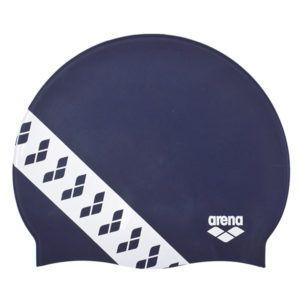 Kapa za plivanje Arena Team Stripe (tamno plava)