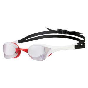 Naočale za plivanje Arena Cobra Ultra Mirror (srebrna/bijela/crvena)