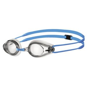 Dječje naočale za plivanje Arena Tracks JR (prozirna / bijela / plava)