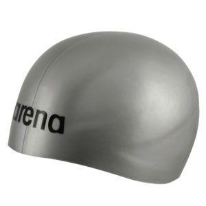 Kapa za plivanje Arena 3D Ultra (srebrna)