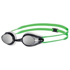Naočale za plivanje Arena Tracks Mirror (bijela / siva / zelena)