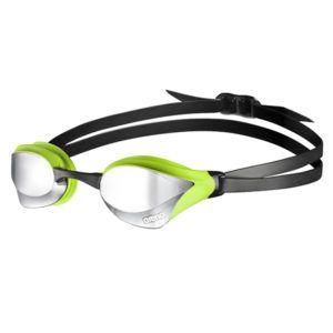 Naočale za plivanje Arena Cobra Core Mirror (srebrna/zelena)