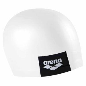 Kapa za plivanje Arena Logo Moulded (bijela)