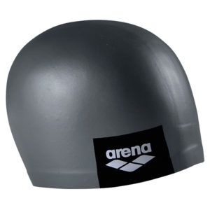 Kapa za plivanje Arena Logo Moulded (tamno siva)