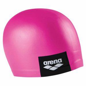 Kapa za plivanje Arena Logo Moulded (roza)
