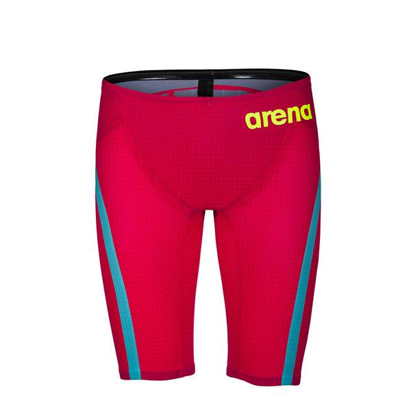 Muški Arena Powerskin Carbon-Flex VX (jarko crvena/tirkizna)