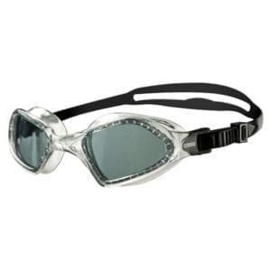 Naočale za plivanje Arena Smartfit (tamno siva / prozirna / crna)