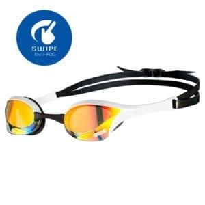 Naočale za plivanje Arena Cobra Ultra Mirror Swipe (žuta/bijela)