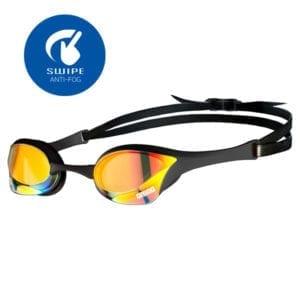 Naočale za plivanje Arena Cobra Ultra Mirror Swipe (žuta/crna)