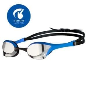 Naočale za plivanje Arena Cobra Ultra Mirror Swipe (srebrna/plava)