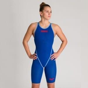 Ženski Arena Powerskin Carbon-Core FX (ocean plava)