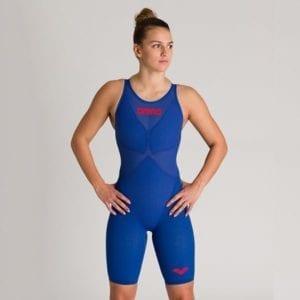 Ženski Arena Powerskin Carbon-Glide (ocean plava)
