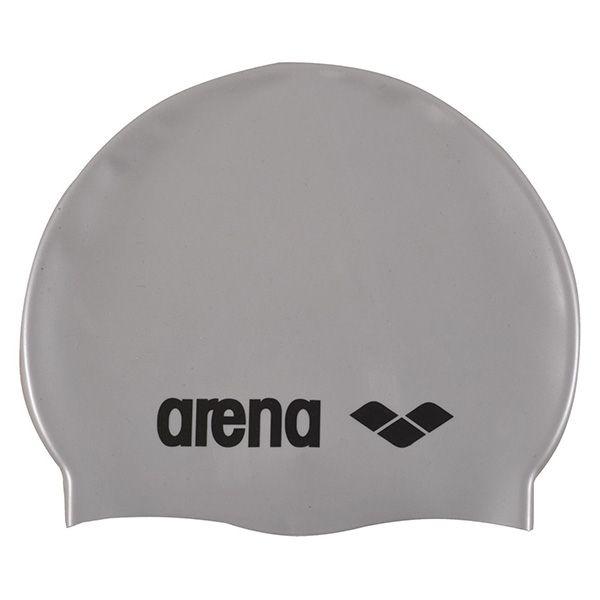 Kapa za plivanje Arena Classic Silicone (srebrna)