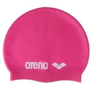 Kapa za plivanje Arena Classic Silicone (roza)