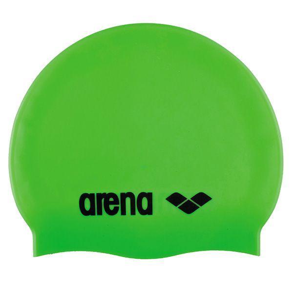 Dječja kapa za plivanje Arena Classic Silicone JR (zelena)