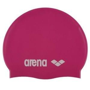 Dječja kapa za plivanje Arena Classic Silicone JR (roza)