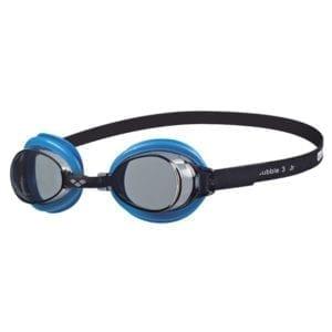Dječje naočale za plivanje Arena Bubble 3 Jr (siva/tirkizna)