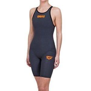 Ženski Arena Powerskin Carbon-Pro (tamno sivi)