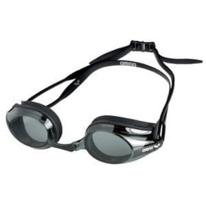 Naočale za plivanje Arena Tracks (siva/crna/crna)